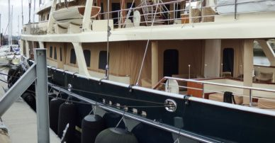 Diane von Furstenberg and Barry Diller's Yacht Eos