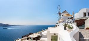 Santorini island,Crete,Greece