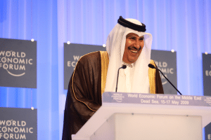 Hamad bin Jassim bin Jaber Al Thani, the former Prime Minister and Foreign Minister of Qatar