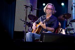 Eric Clapton musician in concert