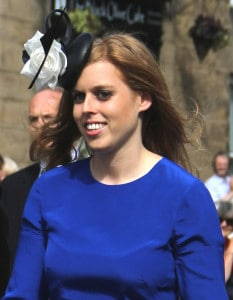 Princes Beatrice smiling