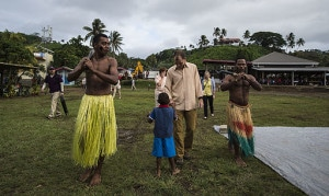 savusavu natives DANCING
