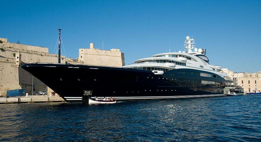 Yuri Sheffler's Yacht Serene
