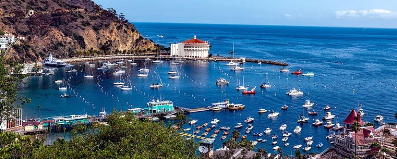 Catalina Island, California With a Mediterranean Vibe