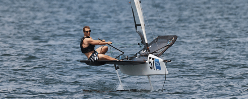 Foiling is Helping Windsurfing Reach New Heights