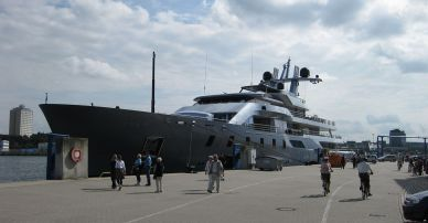 Leonid Mikhelson and His Superyacht Pacific