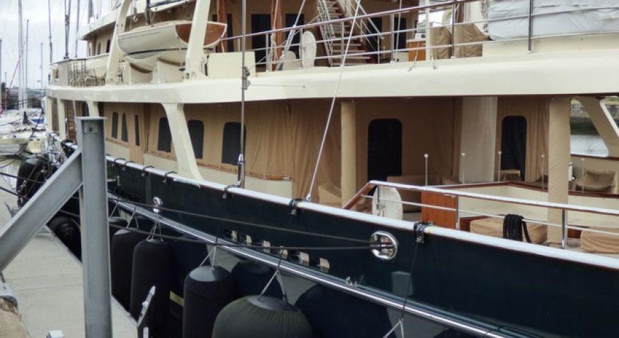 Diane von Furstenberg and Barry Diller's Yacht Eos