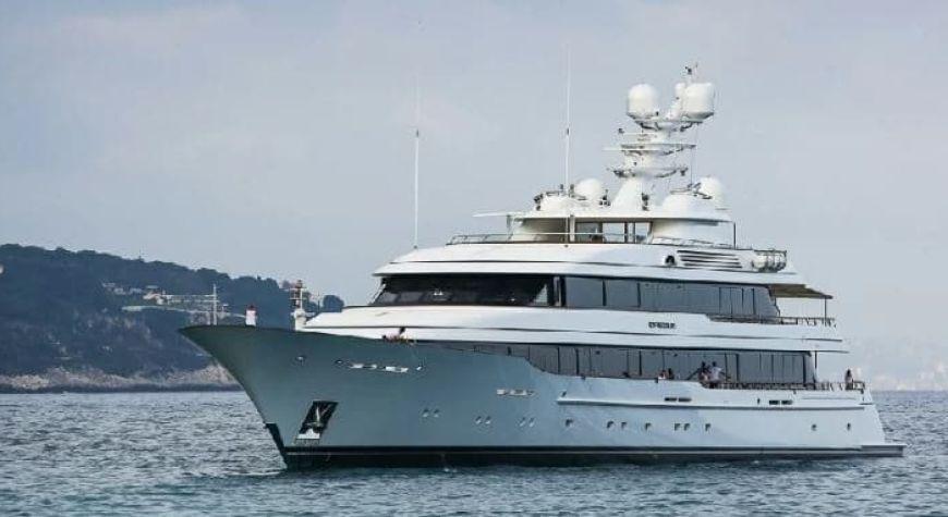 Drizzle – Amancio Ortega's Luxurious Yacht