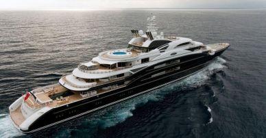 Farkhad Akhmedov's Super Yacht Luna