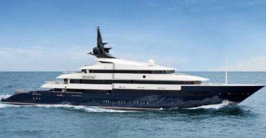 Steven Spielberg's Superyacht Seven Seas