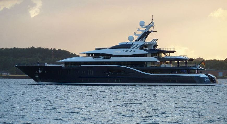 Superyacht Solandge And The Mysterious Owner Club Yacht