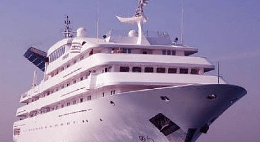 Sheikh Mohammed Bin Rashid Al Maktoum's Yacht Dubai
